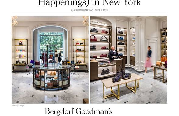 The New Main Floor at Bergdorf Goodman - Architect: Neumann & Rudy