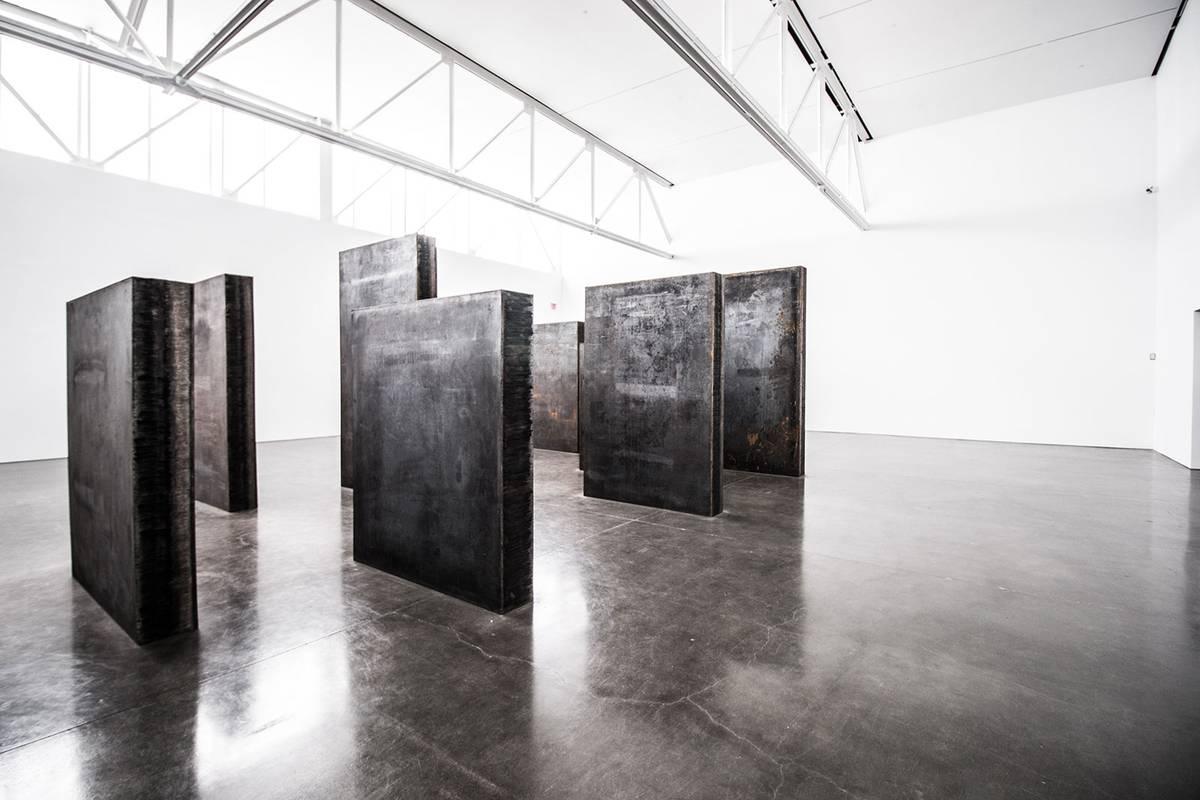 Richard Serra at the Gagosian - Neumann & Rudy Field Trip
