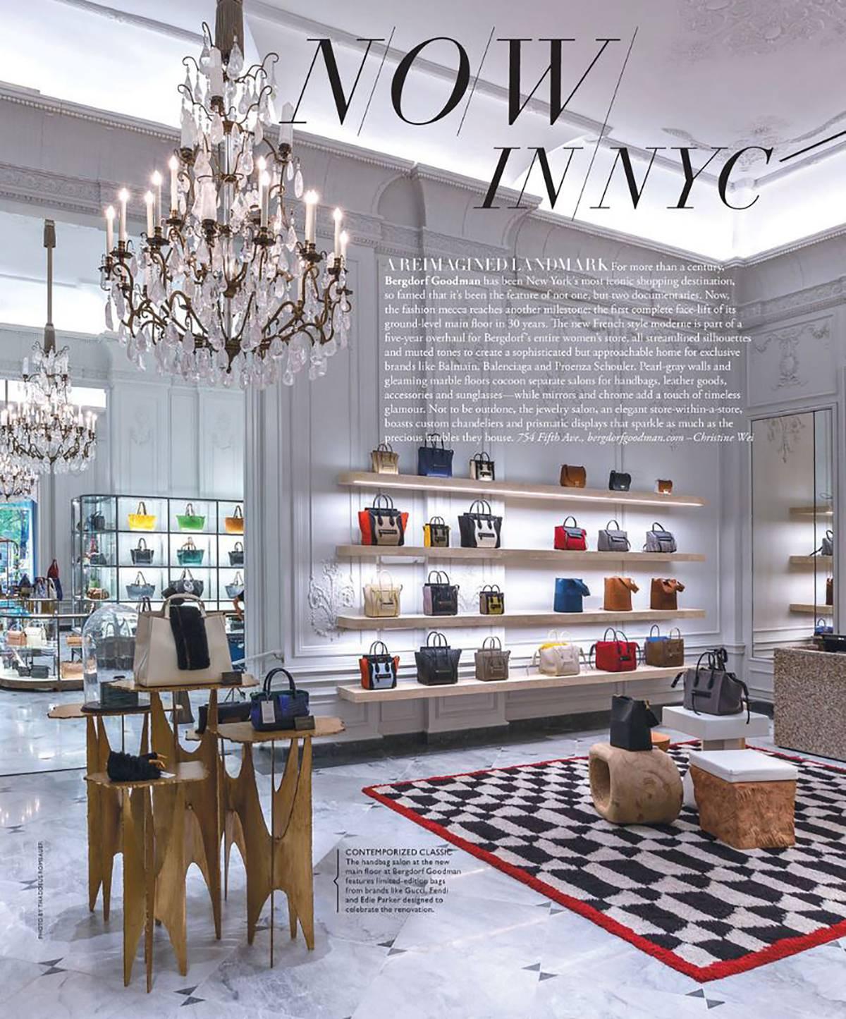 The New Main Floor at Bergdorf Goodman - Architect: Neumann & Rudy