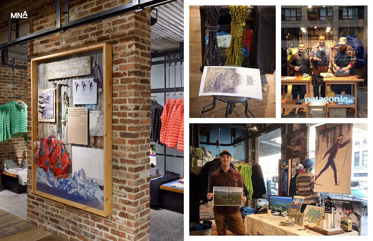 Jeff presents Patagonia Meatpacking and Patagonia Bowery, AIANY Speed Presentations - Architect: Neumann & Rudy
