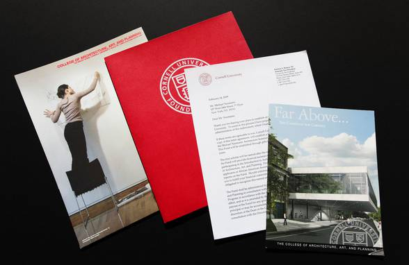 Cornell College of Architecture, Art and Planning Scholarship - Neumann & Rudy