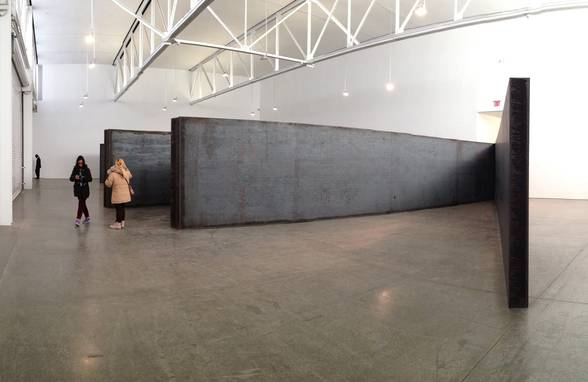 Weatherproof Steel and Inspiration - Richard Serra - Neumann & Rudy