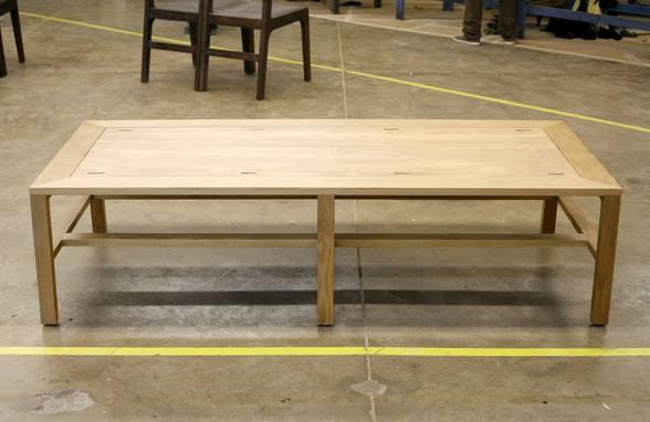 Custom Oak Daybed - Architect: Neumann & Rudy