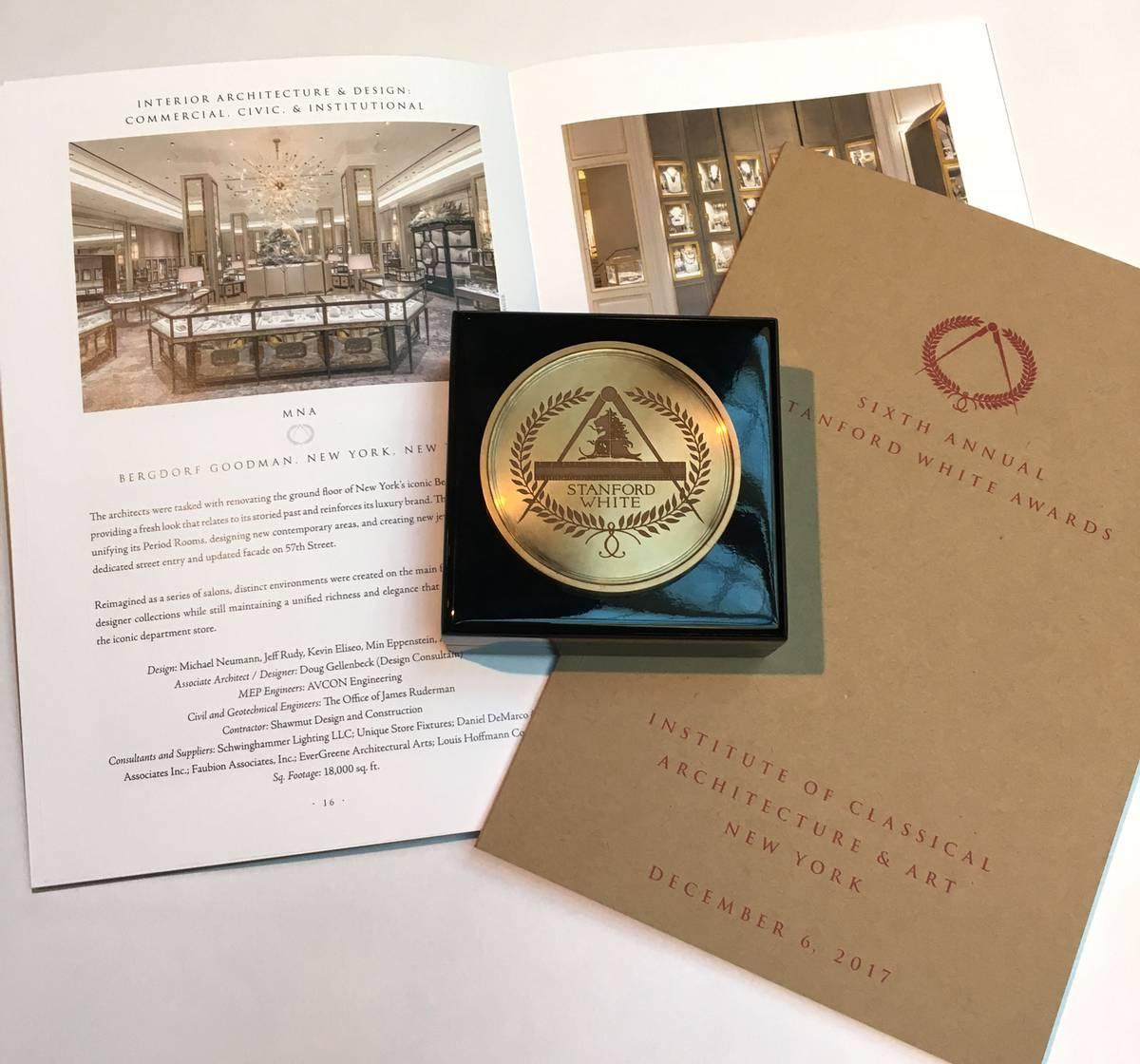 Stanford White Award Winner - Bergdorf Goodman, NYC - Architect: Neumann & Rudy