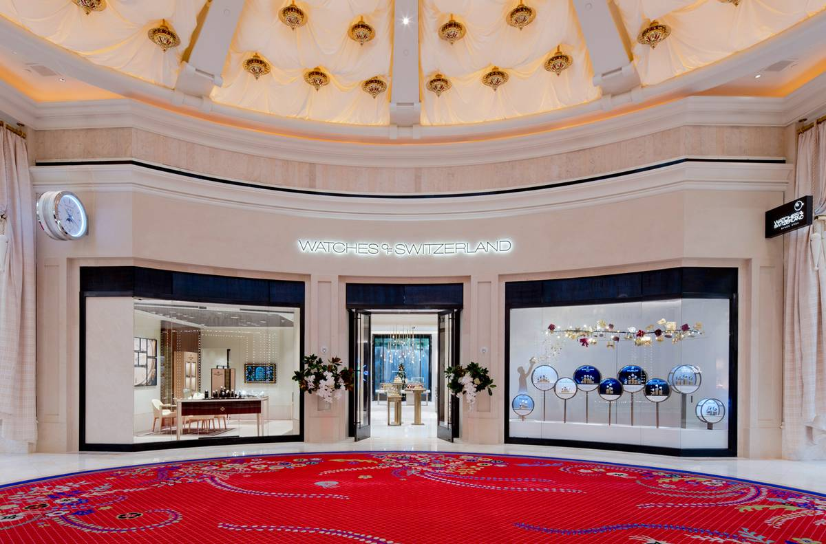 The Finished Storefront, WOS Las Vegas, NV - Architect: Neumann & Rudy