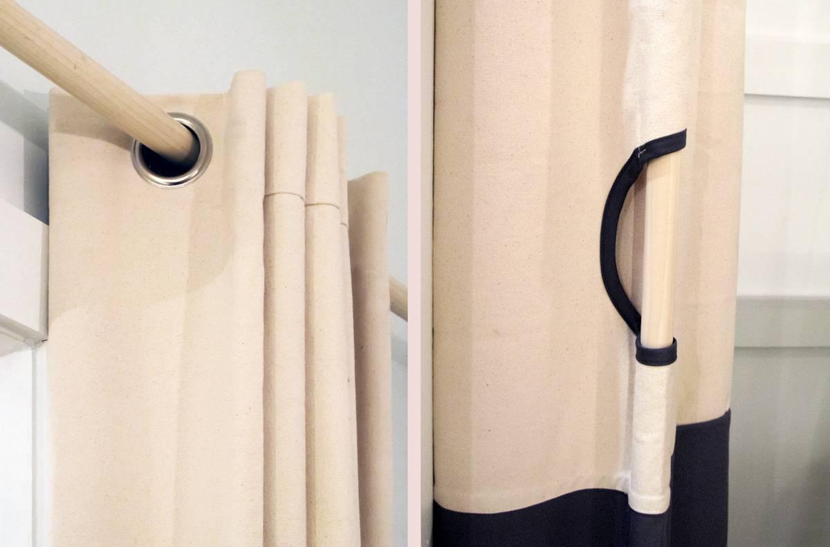 Concept Design: Aerie Mockup - Curtain Detail - Architect: Neumann & Rudy