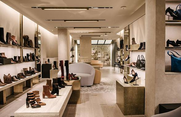 Aquatalia's First Store, Concept Design - Architect: Neumann & Rudy
