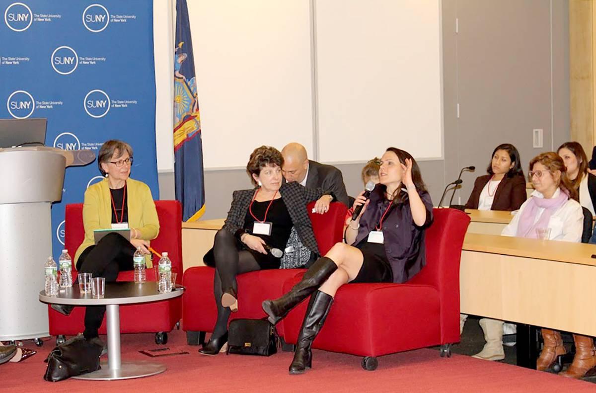 Brown Panel: Building Women - Neumann & Rudy Field Trip