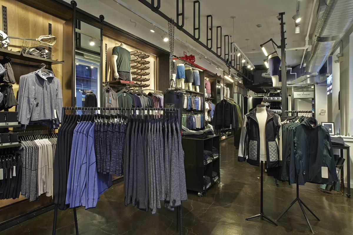 Lululemon Soho Men's Shop Opens - Architect: Neumann & Rudy