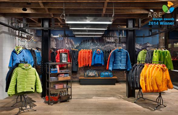 ARE Design Awards at GlobalShop Winner - Patagonia Meatpacking, New York, NY, NYC - Architect: Neumann & Rudy