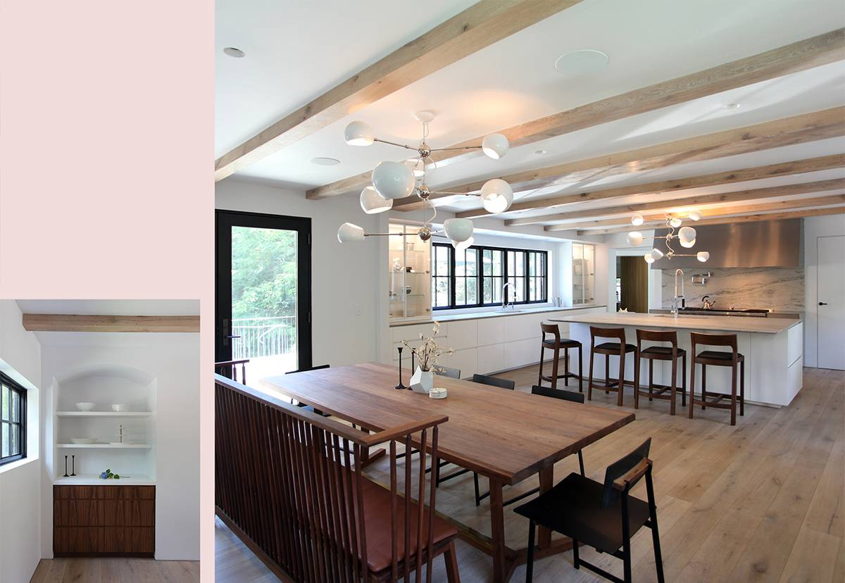 Dining Room and Kitchen: Sterling Ridge - Architect: Neumann & Rudy