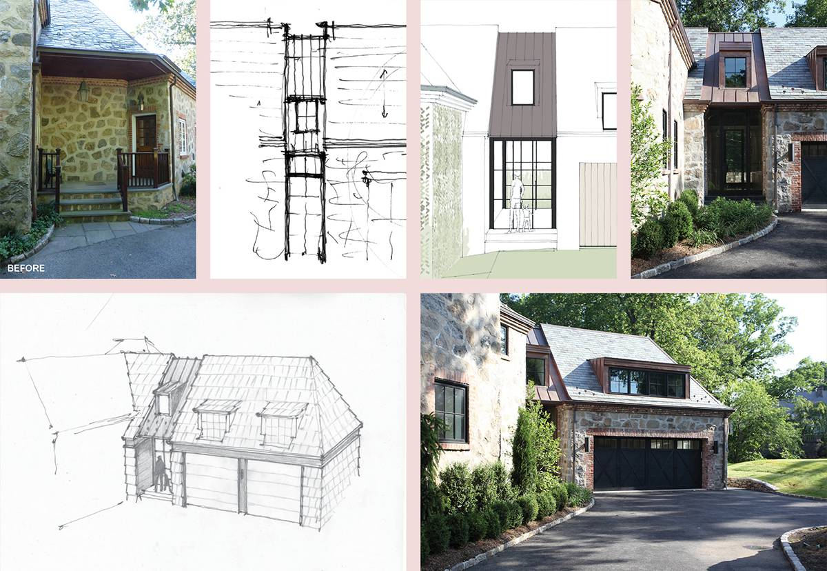 Mudroom and Garage Addition: Sterling Ridge - Architect: Neumann & Rudy