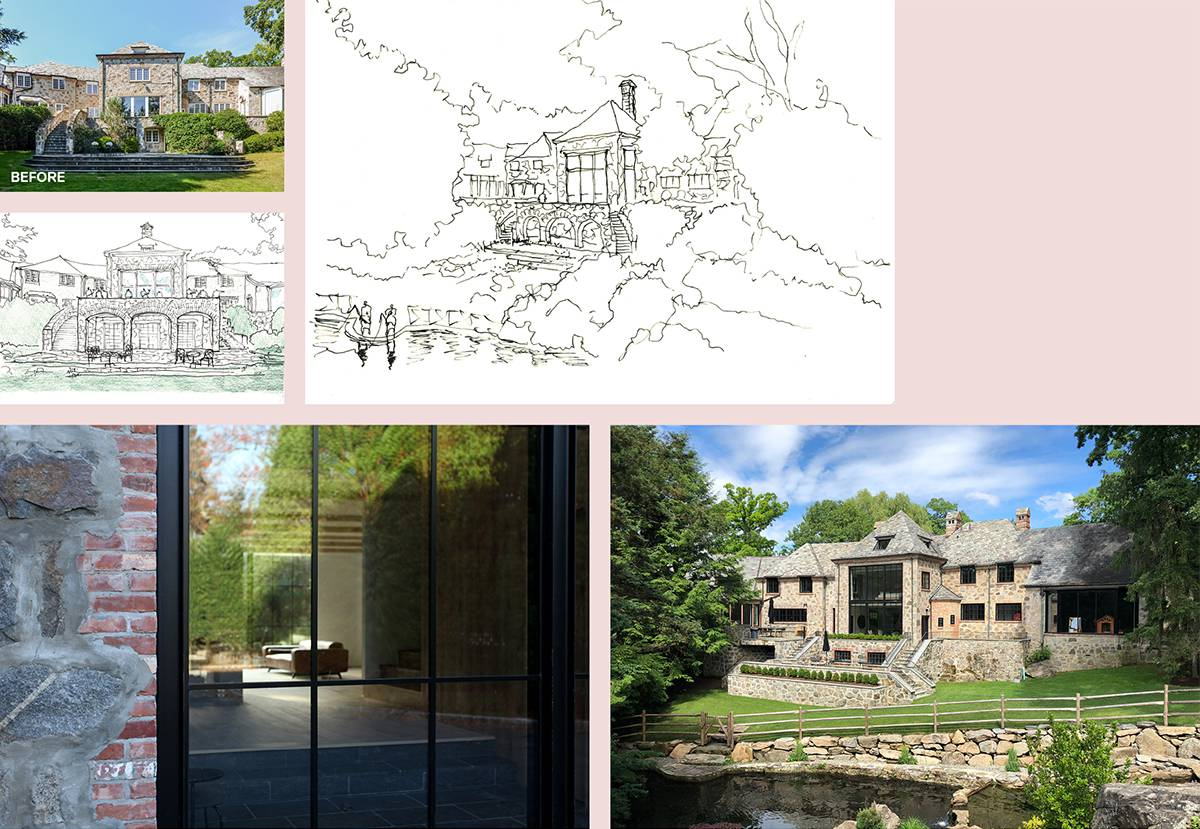 Exterior and Patio Redesign: Sterling Ridge - Architect: Neumann & Rudy