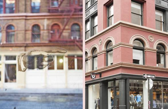 Lululemon Soho Men's Shop Opens - Architect: Neumann & Rudy