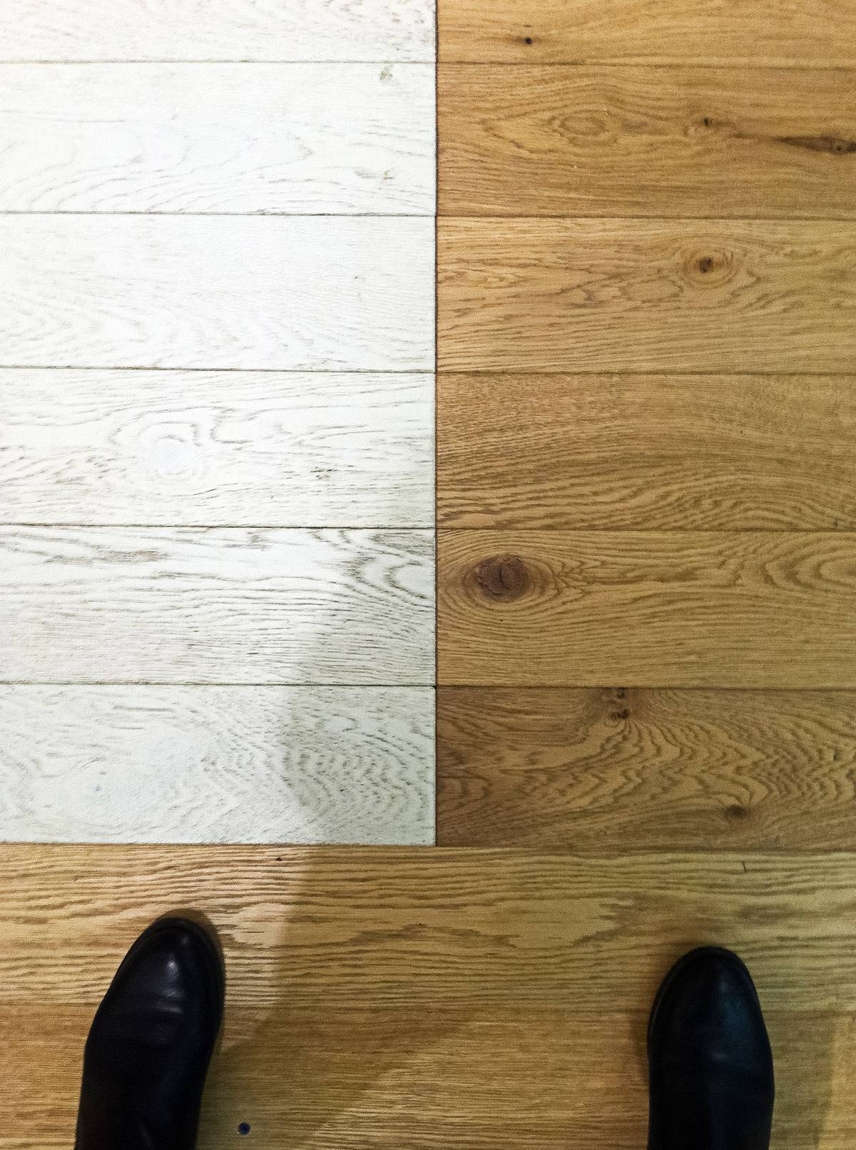 Concept Design: Aerie Mockup - Painted Floor - Architect: Neumann & Rudy