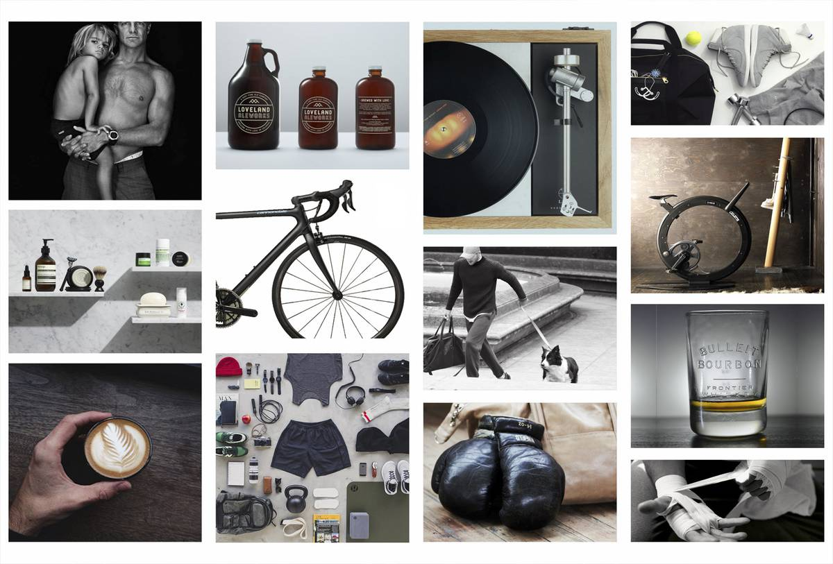 Lululemon's First Ever Mens Store Mood Board - Architect: Neumann & Rudy