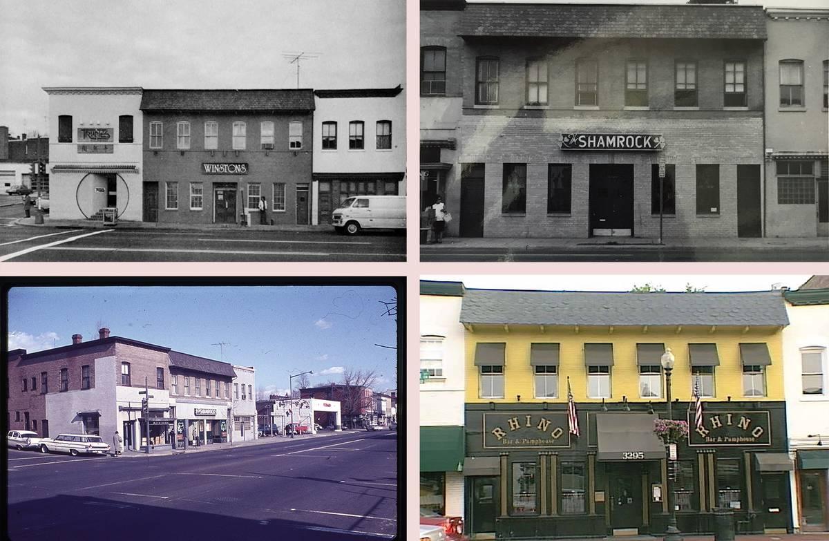 VMSD Retail Renovation Award Winner - Rhino Bar to Club Monaco, Georgetown Facade, Washington DC - Architect: Neumann & Rudy