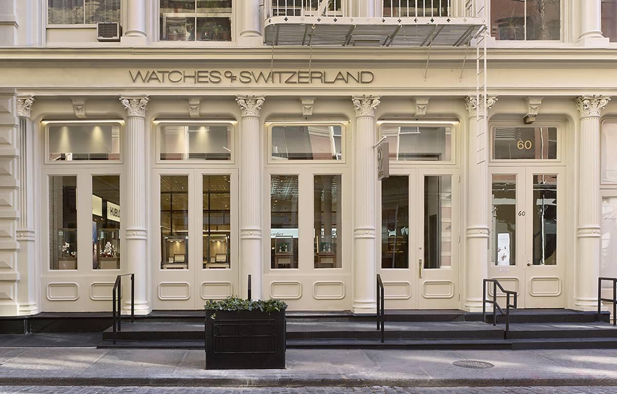 Watches of Switzerland - WOS Greene Street, Soho, NY, NYC - Architect: Neumann & Rudy