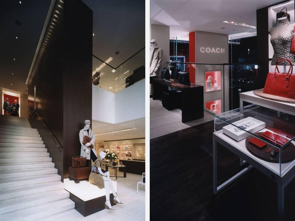 Coach Ginza, Tokyo, Japan - Architect: Neumann & Rudy