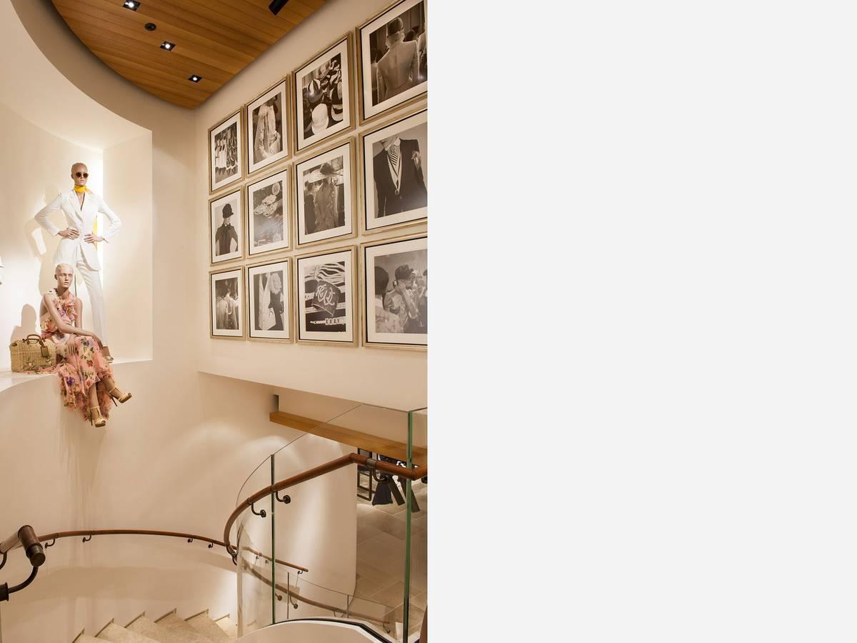 Ralph Lauren, Stockholm, Sweden - Architect: Neumann & Rudy