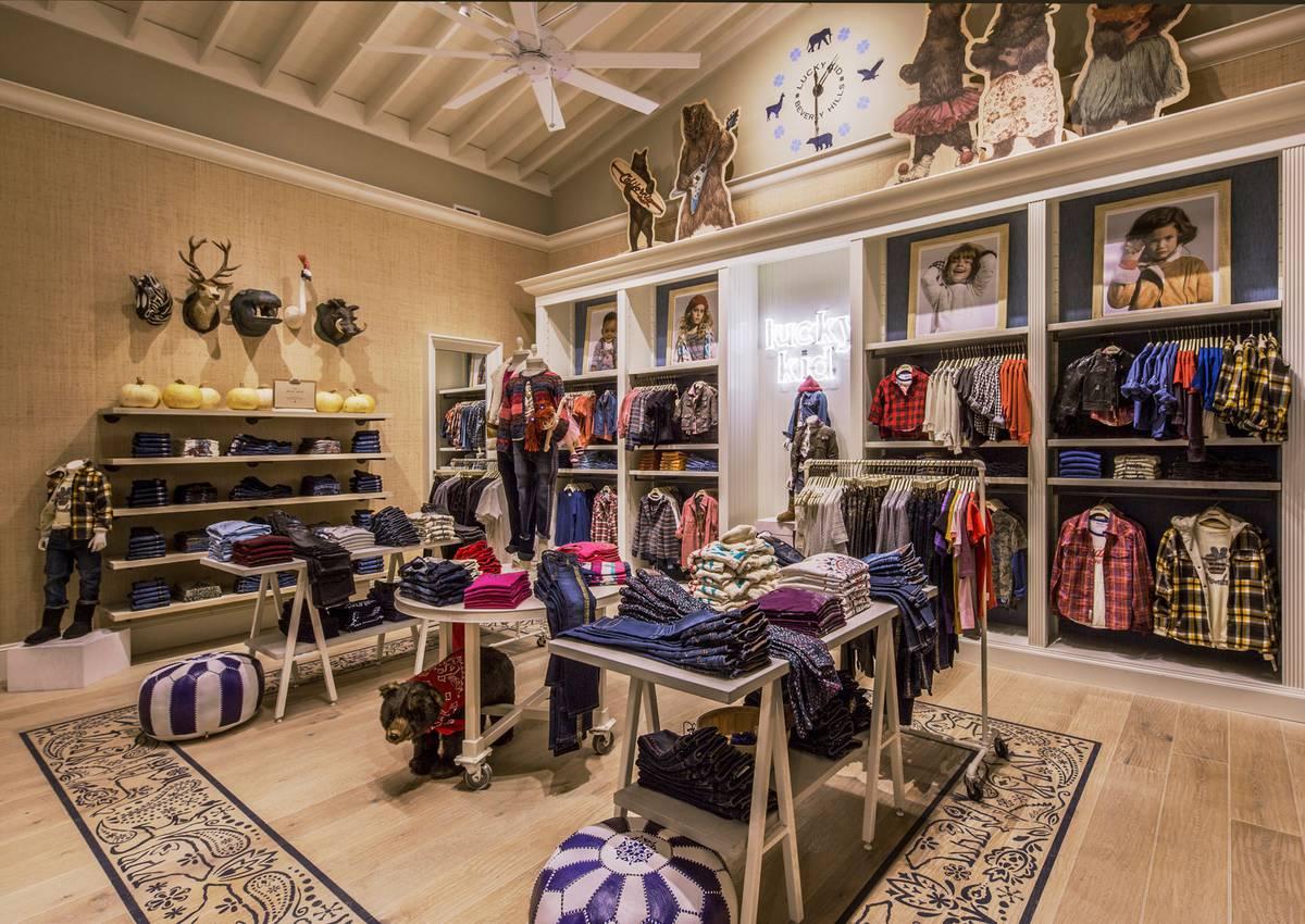 Lucky Brand Beverly Hills, CA - Architect: Neumann & Rudy
