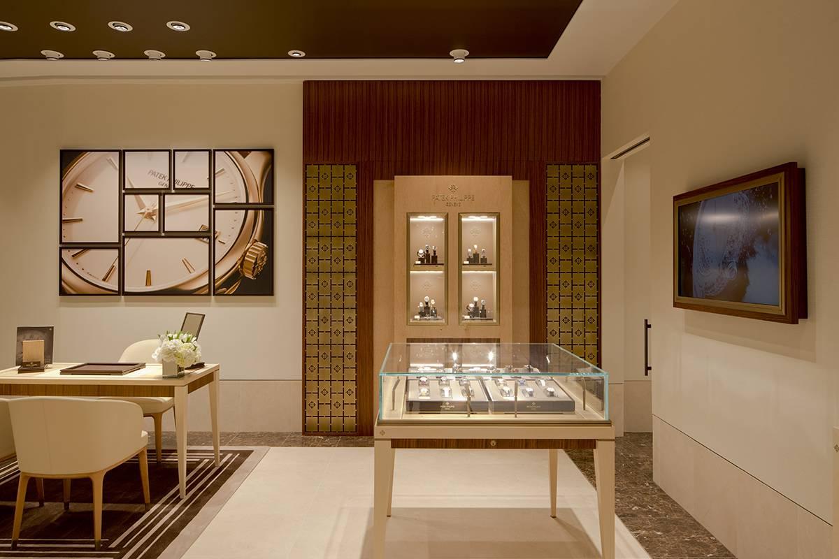 Watches of Switzerland - WOS Wynn, Las Vegas, NV - Architect: Neumann & Rudy