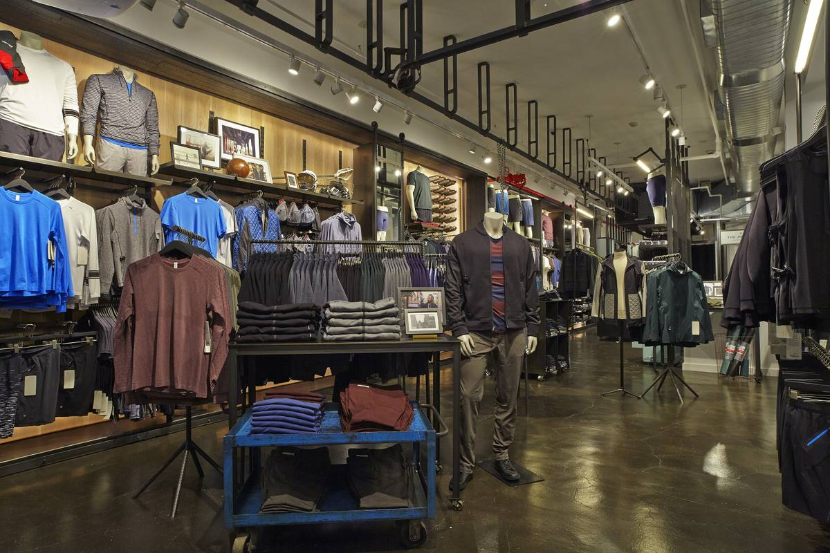 Lululemon Men's Store, Soho, New York, NY, NYC - Architect: Neumann & Rudy