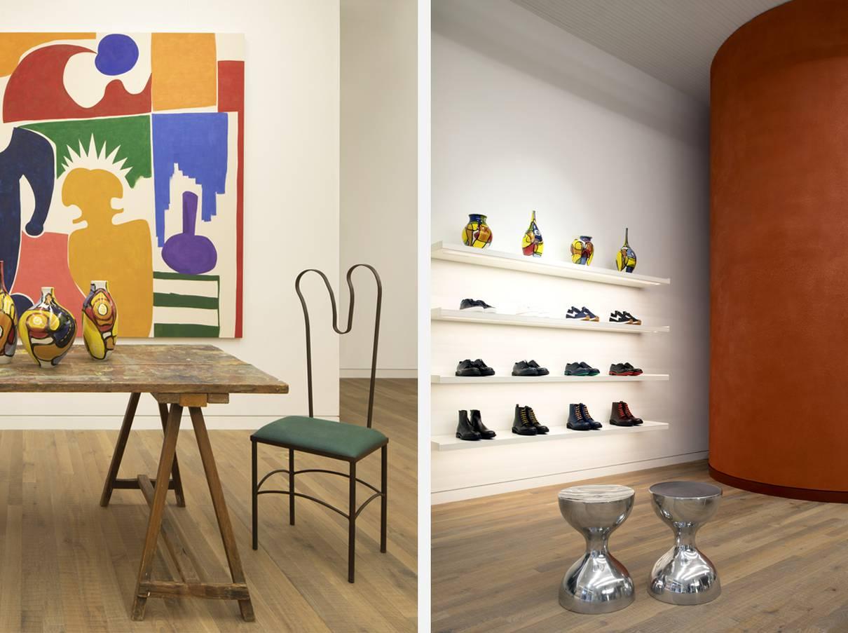 Paul Smith Wooster Street - Soho NY, NYC - Architect: Neumann & Rudy