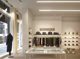 Paul Smith Wooster Street - Soho NY, NYC - Architect: Neumann & Rudy