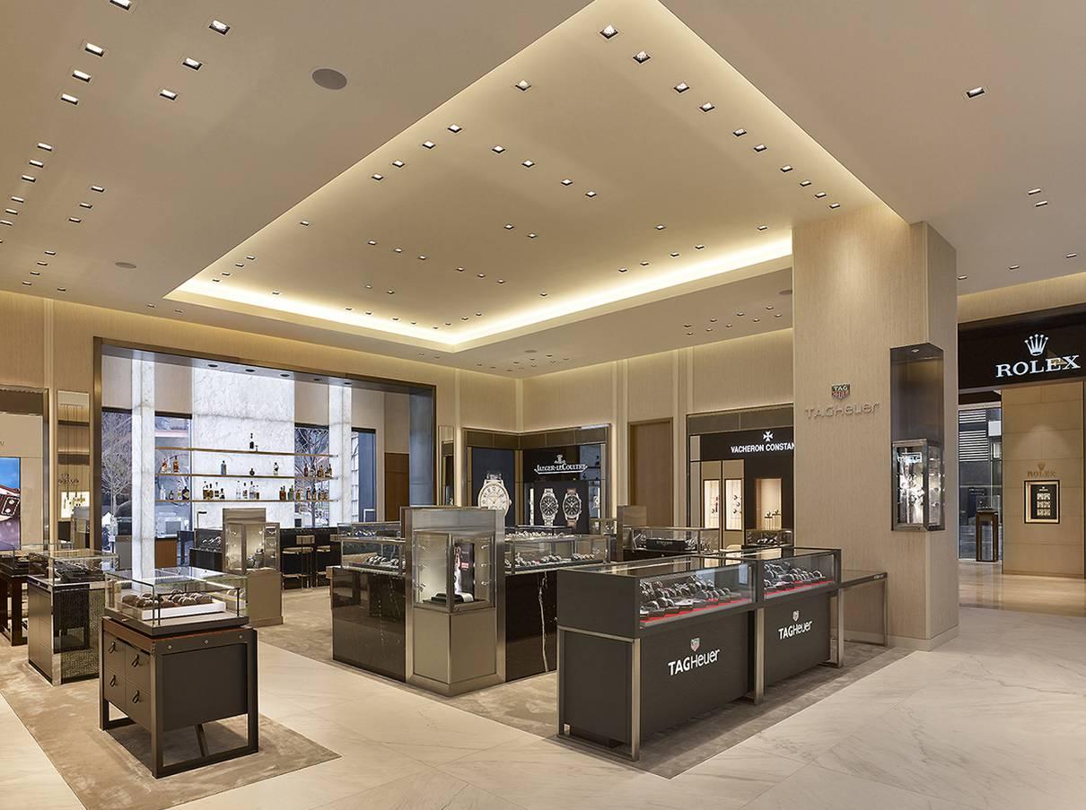 Watches of Switzerland - WOS Hudson Yards, NY, NYC - Architect: Neumann & Rudy