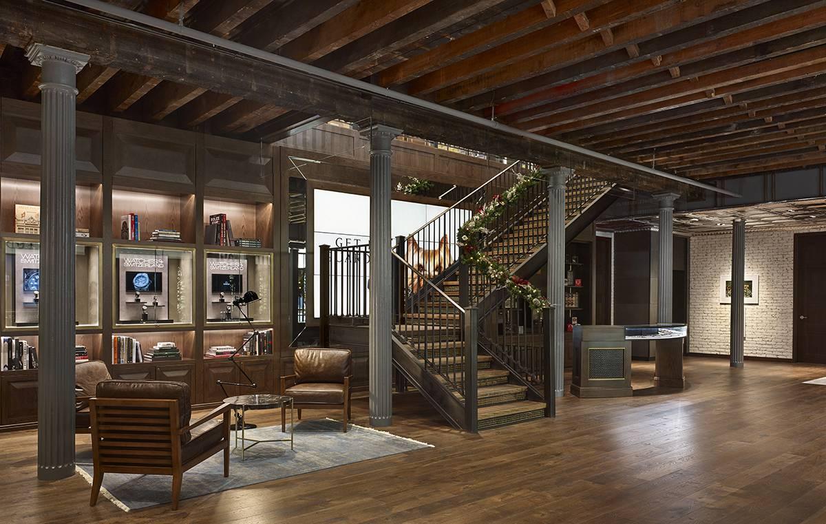Watches of Switzerland - WOS Greene Street, Soho NY, NYC - Architect: Neumann & Rudy