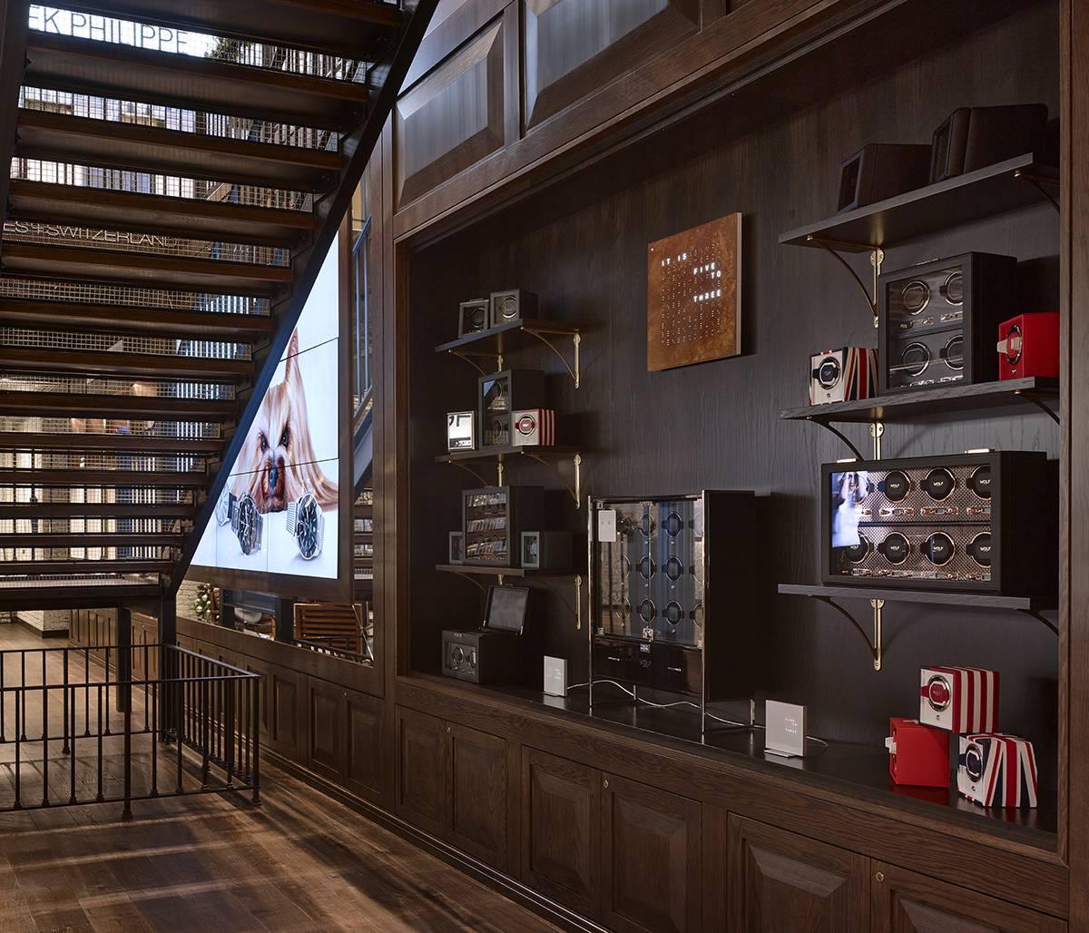 Watches of Switzerland - WOS Greene Street, Soho, NY NYC - Architect:  Neumann & Rudy